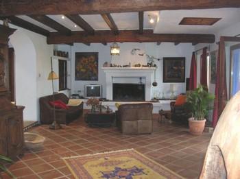 bildergalerie luxus villa los olivos 70m grosses wohnzimmer bild 2 15. Black Bedroom Furniture Sets. Home Design Ideas